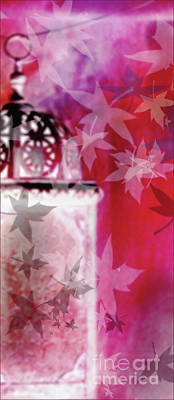 Digital Art - Faeries In Red by Liz Alderdice