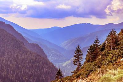 Photograph - Fagaras Mountains by Claudia M Photography