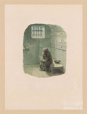 Condemned Painting - Fagin In The Condemned Cell by MotionAge Designs