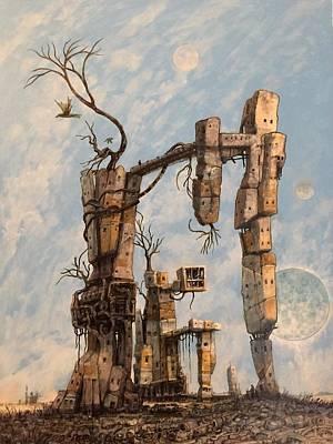 Failed Colony Original by William Stoneham