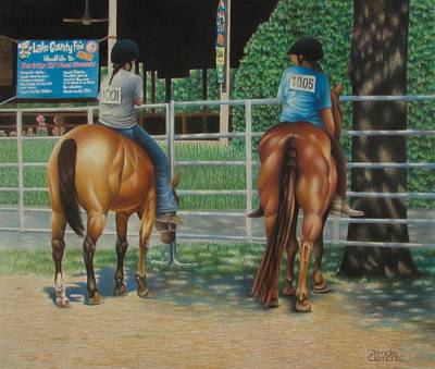Drawing - Fair Exchange by Pamela Clements