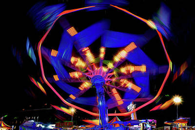 Photograph - Fair Fun - Midway by Nikolyn McDonald