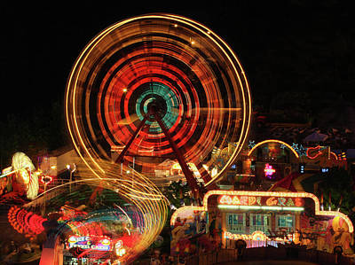 Photograph - Fair In Motion by Art Cole