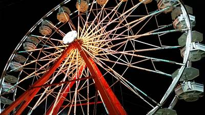 Photograph - Fair Night  by Ally White