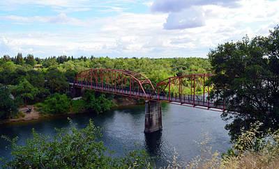 Photograph - Fair Oaks Bridge Crossing by Brent Dolliver