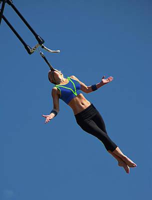 Photograph - Fair Stunt by Mike Martin