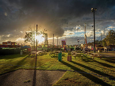 Photograph - Fair Sunset by Brad Boland