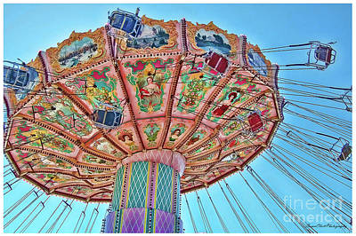 Photograph - Fair Swings by Susan Cliett