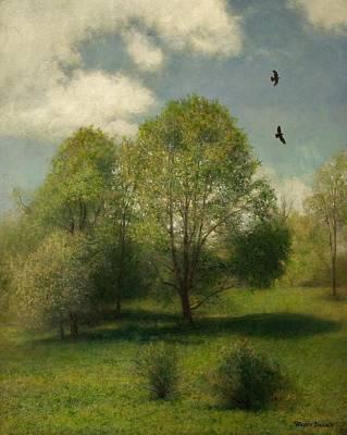 Painting - Fairchild Hill by Wayne Daniels
