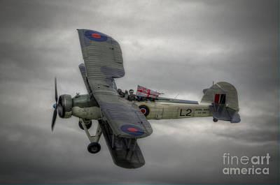 Bi Plane Digital Art - Fairey Swordfish by Nigel Bangert