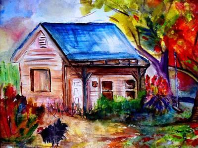 Fairfield Farm Original by Sherri Trout