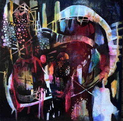 Painting - Fairground by Caia Matheson