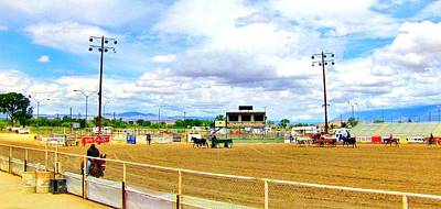 Photograph - Fairgrounds And Mule Days by Marilyn Diaz