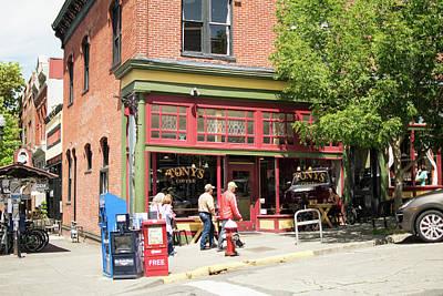 Photograph - Fairhaven Coffee Shop by Tom Cochran