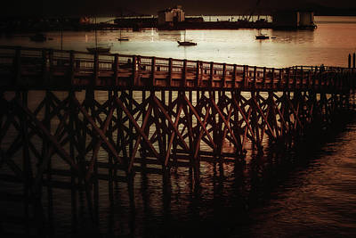 Photograph - Fairhaven Off-ramp by Monte Arnold