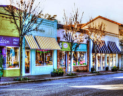Photograph - Fairhope Adrenaline Sidewalk by Michael Thomas