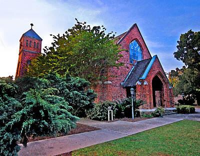 Painting - Fairhope Alabama Methodist Church by Michael Thomas