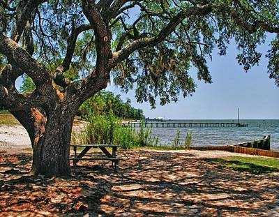 Fairhope Boat Launch Art Print