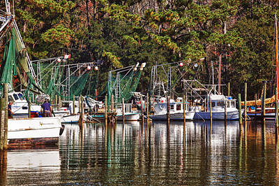 Fairhope Fleet Original by Michael Thomas