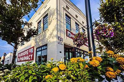 Photograph - Fairhope Pharmacy Corner  by Michael Thomas