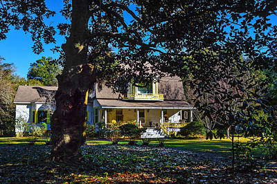 Photograph - Fairhope Southern Home by Michael Thomas