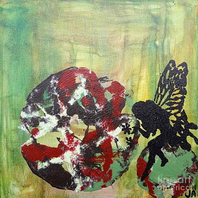 Western Art - Fairies - 3 by Jacqueline Athmann
