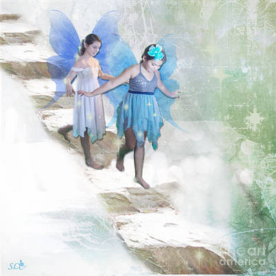 Photograph - Fairies On The Stairs by Sandra Clark