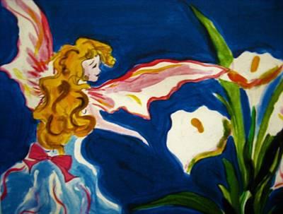 Faerys Painting - Fairilina by Lux Kronos  ARTIST PHOTOGRAPHER