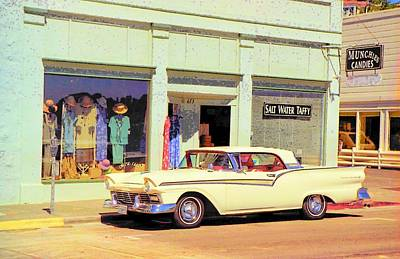 Photograph - Fairlane 500 1957 by John Schneider