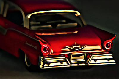 Photograph - Fairlane 500 by Jeff  Gettis