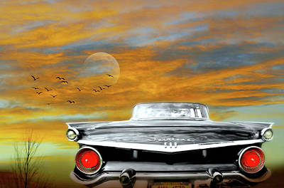 Photograph - Fairlane In The Desert Sky by Diana Angstadt
