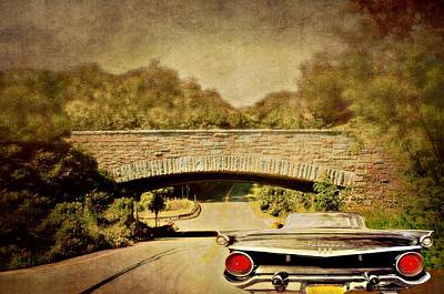 Photograph - Fairlane On The Highway by Diana Angstadt