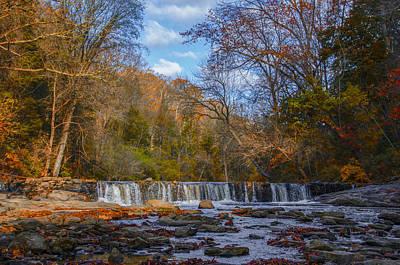 Fairmount Park - Wissahickon Creek Waterfall Art Print