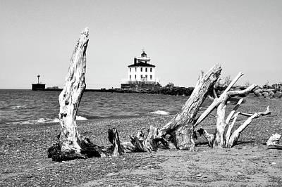 Photograph - Fairport Harbor Lighthouse by Michelle Joseph-Long