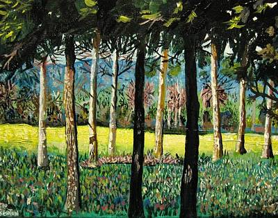 Painting - Fairway by Mike Benton