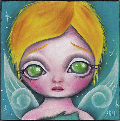 Painting - Fairy  by Abril Andrade Griffith