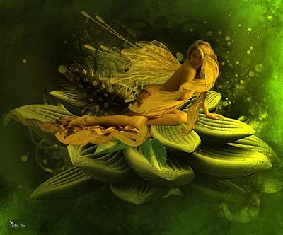Digital Art - Fairy Awake by Ali Oppy