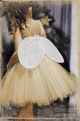 Photograph - Fairy Ballerina by Craig J Satterlee