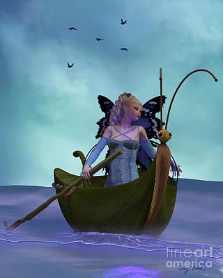 Oars Digital Art - Fairy Barliecorn by Corey Ford