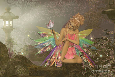 Fairy Dreams Art Print by Corey Ford