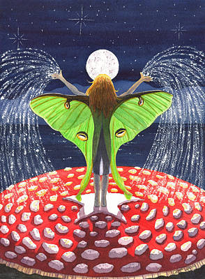 Fairy Dust Art Print by Catherine G McElroy