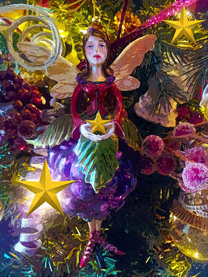 Photograph - Fairy Dust Christmas by Susan Vineyard