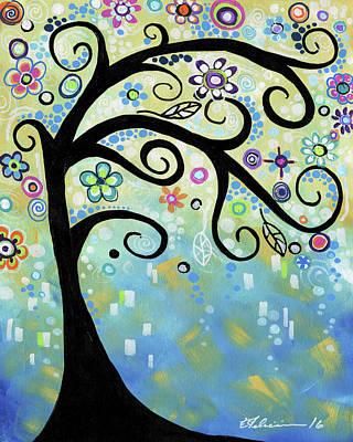 Painting - Fairy Dust by Elena Feliciano
