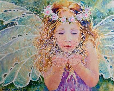 Fairy Dust Art Print by Nicole Gelinas