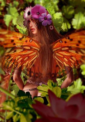 Digital Art - Fairy by Fabrizio Uffreduzzi