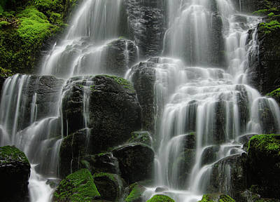 Photograph - Fairy Falls by Don Schwartz