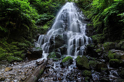 Photograph - Fairy Falls by Margaret Pitcher