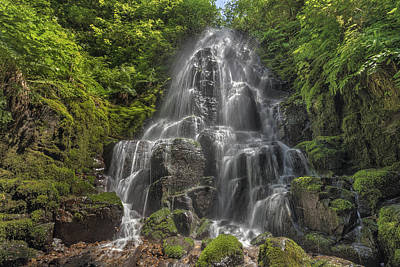 North America Photograph - Fairy Falls On A Sunny Day by David Gn