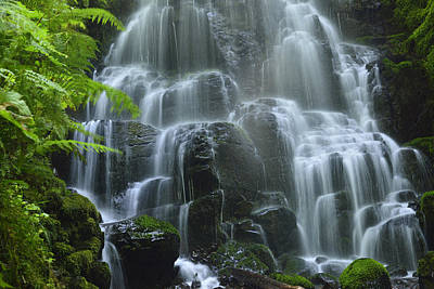 Photograph - Fairy Falls by Walt Sterneman