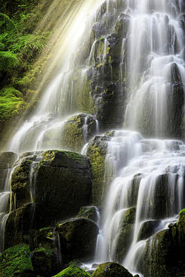 Photograph - Fairy Falls by Windy Corduroy